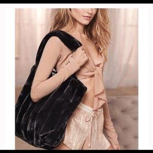 Victoria Secret faux fur bag